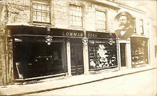 Sherborne. Lowman & Sons Tailors & Outfitters Shop. Man Inset.
