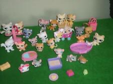 Littlest Pet Shop Kitten Baby Cat Mouse 20+ Pets Siamese Bonnet Bed Toy LOT