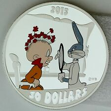 2015 $30 Looney Tunes Classic Scenes: The Rabbit of Seville, 2 oz Pure Silver
