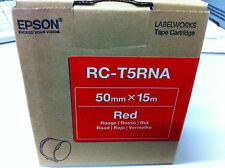 original Epson RC-T5RNA Farbband Rot 50mm x 15 m LabelWorks Pro100 C53S634004