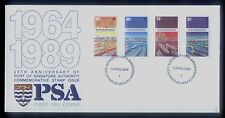 Singapore Stamps First Day Cover FDC -  25th Anniversary Port of Singapore  1989