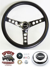 "1969-1994 Camaro steering wheel CLASSIC CHROME 13 1/2"" Grant steering wheel"