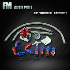 AN6 Adjustable Fuel Pressure Regulator Kit For Hyundai Lexus Mazda Mercury VW