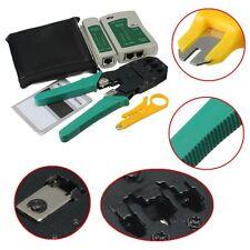 RJ45 RJ11 RJ12 CAT5 LAN Network Tool Kit Net Cable Tester Stripper Crimper Plier