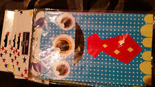 4 X MONSTER TREAT BAGS PARTY LOOT BAGS MADE OF CARD