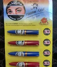 2 x Original Hashmi Kajal Black Kohl Eyeliner Sticks Brand New