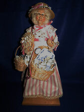 """THE CHINA PEDDLER"" 18"" LYNN HANEY SANTA - SIGNED - 1991 - MINT"
