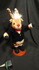 Animated Christmas Musical Dancing Rudolph The Red Nose Reindeer