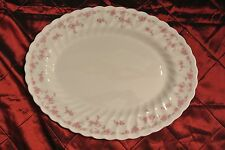 """Franciscan Brides Bouquet Platter Made in Staffordshire England 14-1/2"""""""
