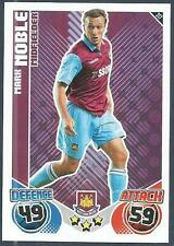 TOPPS MATCH ATTAX 2010-11- #317-WEST HAM UNITED-MARK NOBLE