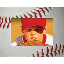"Baseball Picture Frame - Paper - Holds a 4"" x 6"" Photo"