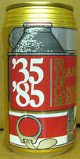50 YEARS OF CANNED BEER '35 '85 Beer CAN Reynolds Alumium Richmond VIRGINIA 1985