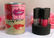 New NARS Andy Warhol Lip Gloss Set of 5 Larger Than Life Confetti 11 oz / 3.5 g