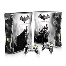 P44* Console+Controllers Full Body Decal Skin Sticker for Microsoft XBOX360 SLIM