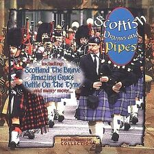 Scottish Drums and Pipes by Premium Music Collection (CD, 1998, Premiere Music)
