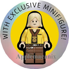 NEW LEGO Star Wars Exclusive YELLOW TORSO MEDAL LUKE SKYWALKER Minifigure Figure