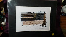 """Lot of 3 """"Mission Vignette #2"""" Matted Photographs by Gary Williams 1/2 2/3 3/3 ."""