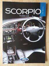 FORD SCORPIO orig 1996-97 UK Mkt sales brochure - Ghia X Ultima