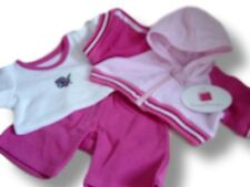 Bear CLOTHES FIT Build a Bear ORSETTI ROSA SPORT OUTFIT TEDDY BEARS abbigliamento