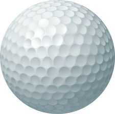 NOVELTY GOLF BALL 12 STAND UP Edible Image Cake Toppers Birthday sport hobby