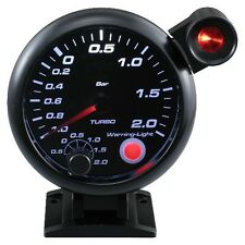 95mm 3 3/4 inches Boost Gauge with sensor and outside shift light
