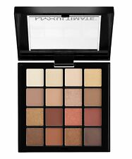 NYX Professional Makeup WARM NEAUTRALS Eyeshadow Palette New Genuine Matte Brown