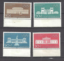 GERMANY , 1970, SPORTS ,  1972 OLYMPICS, SET OF 4 STAMPS , PERF, MNH