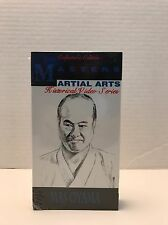 Masters Martial Arts Historic Video Series Mas Oyama VHS Tape