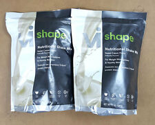 2 x ViSalus Body By Vi Vi-Shape Shake Mix (24 Serving Pouch) EXP 08/18+
