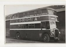 Llandudno Double Decker Bus Plain Back Photo Card 724a
