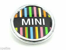 Genuine NUOVO MINI Multicolore griglia Badge emblema R55 R56 R57 R59 Cooper S JCW