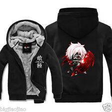 Anime Tokyo Ghoul Kaneki Ken Q Cosplay Winter Hoodie Sweater Jacket Coat Tops
