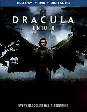 Dracula Untold (Blu-ray/DVD, 2015, 2-Disc Set, Includes Digital Copy;...