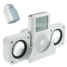 White Universal Portable Folding Speaker for Samsung i9100 Galaxy S2