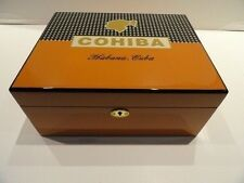 cohiba humidor comes with locking lid and key  new in box