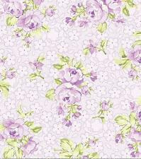 Eleanor Burn Romance Heirloom Lilac Lavender Rose Purple Floral Quilt Fabric