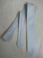 NEW SQUAD OF IRELAND BOYS TIE MOD CASUAL VINTAGE 1980'S SILVER STRIPED AGE 4-10