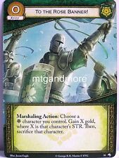 A Game of Thrones 2.0 LCG - 1x To the Rose Banner!  #038 - Wolves of the North