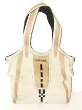 DIESEL~NWT~LG~LEATHER~PONNY HAIR STRIPES~SIGNATURE SHOPPERS TOTE BAG~RARE & HTF