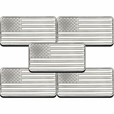 American Flag 10oz .999 Silver Bar 5pc