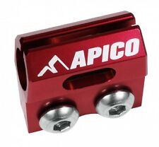 APICO BRAKE HOSE CLAMP HONDA CR80/85 96-07, CRF150R 07-16, CR125/250 90-03,  RED