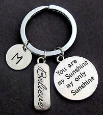 You are my Sunshine my only Sunshine Personalized Key Chain