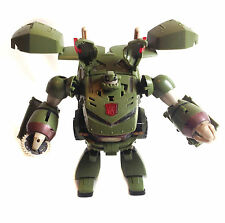 "Transformers Leader class  BULKHEAD 10"" robot army truck figure VERY COOL"