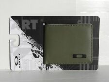 NEW! OAKLEY STATION WALLET Worn Olive Bifold 95143OVT-79B