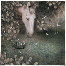 Hedgehog in the Fog Y.Norstein's animation Signed Giclée (Hedgehog in a River)