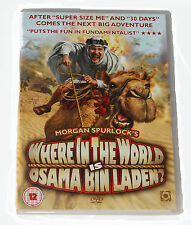 WHERE IN THE WORLD IS OSAMA BIN LADEN - DVD - NEW IN SEALED BOX