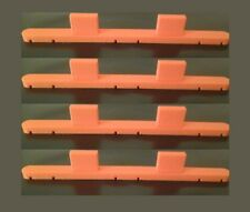 4 Pack Parallel Track Triple / Twin Rail Tool for Hornby, Peco and OO/HO Tracks