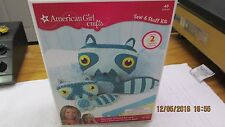 NEW American Girl Crafts Sew & Stuff Kit Raccoon One For You One For Your Doll!