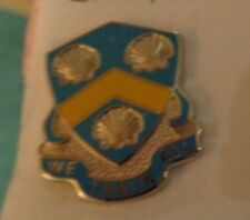 CREST DI, 210TH REGIMENT, VIRGIN ISLANDS NATIONAL GUARD.CLUTCH BACK, S38 HM