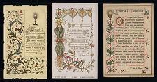 lotto santini-holy cards lot-lot images pieuses-konvolut heiligenbildichen 2433